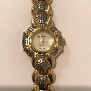 Gold and Silver toned watch